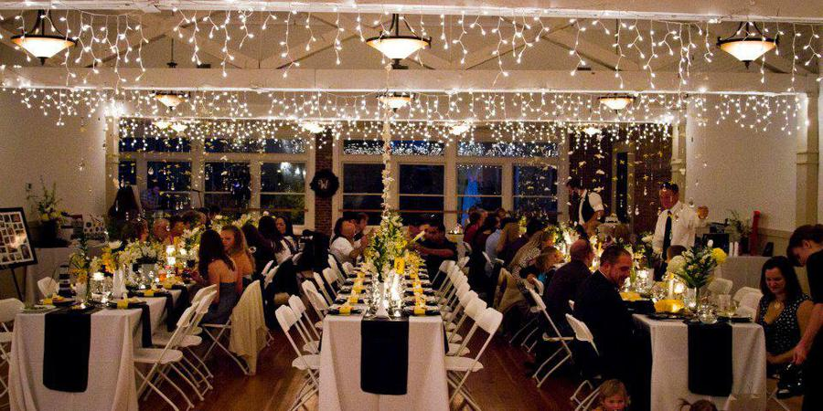 Flinn Block Hall wedding Willamette Valley