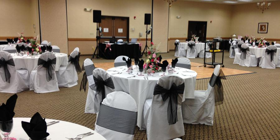 Radisson Hotel Ames Conference Center at ISU wedding Des Moines