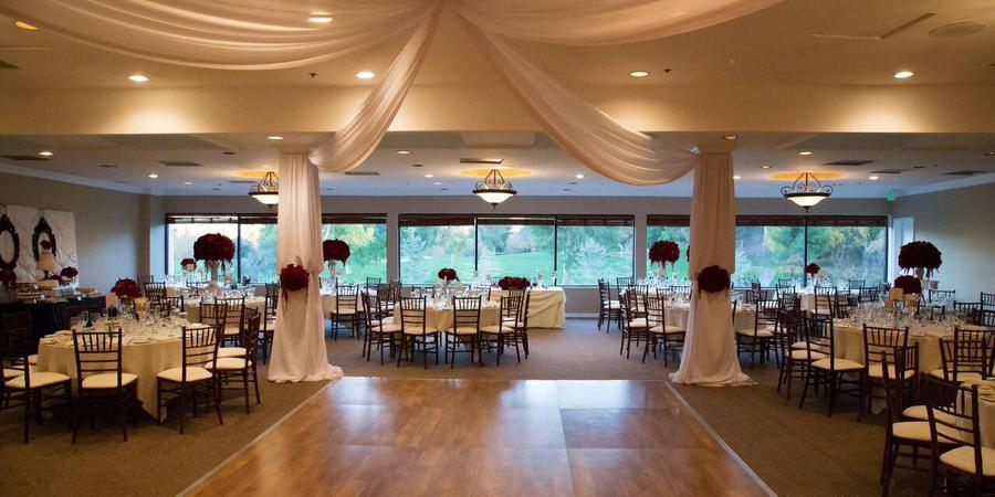Valencia Country Club wedding Los Angeles