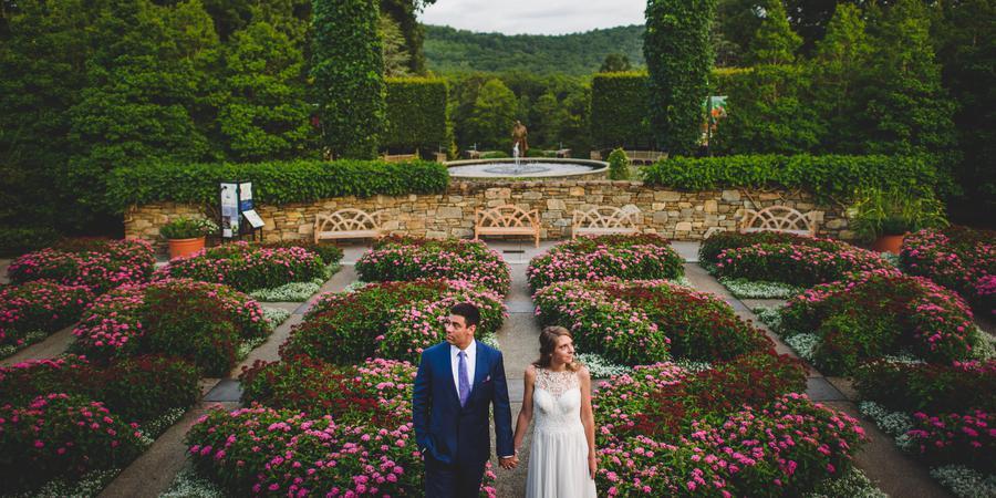 The North Carolina Arboretum wedding Asheville