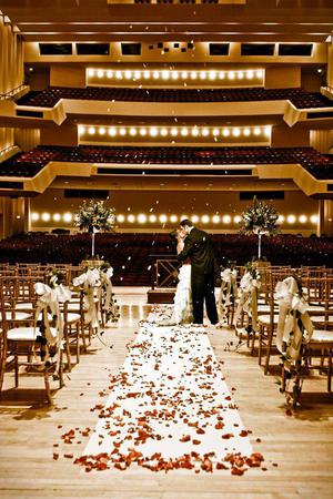 Memorial Arts Building At The Woodruff wedding Atlanta