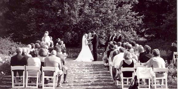 U of M Matthaei Botanical Gardens wedding Detroit