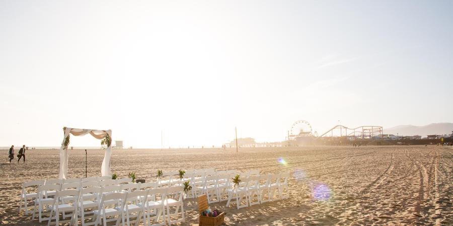 Loews Santa Monica wedding Los Angeles