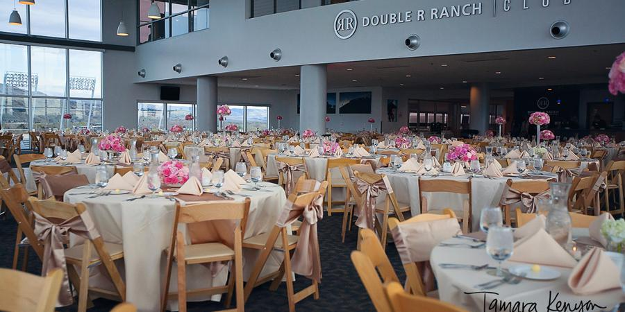 Stueckle Sky Center at Albertson Stadium wedding Idaho