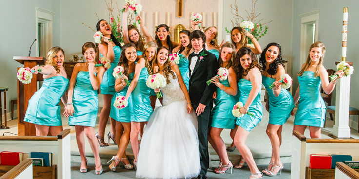 The Elegance Banquet Hall wedding Houston