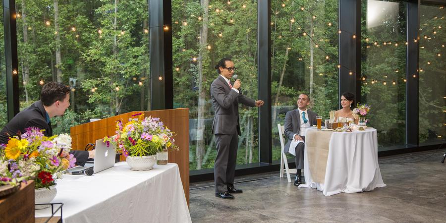 The Vollmer Center at Cylburn Arboretum wedding Baltimore