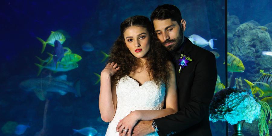 Downtown Aquarium Denver wedding Denver
