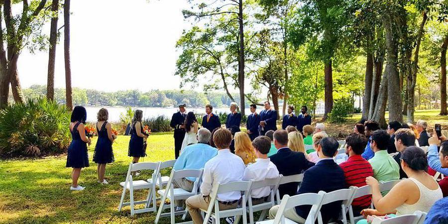 Cedar Bay Retreat wedding Jacksonville