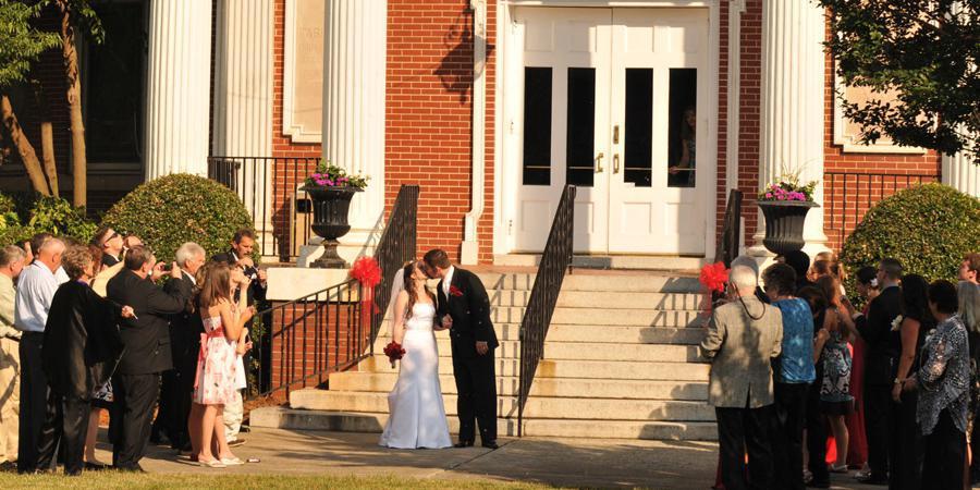 The Great Aunt Stella Center wedding Charlotte