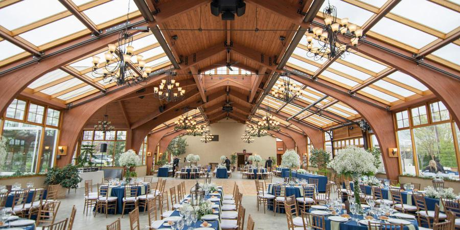 Conservatory at the Sussex County Fairgrounds wedding North Jersey