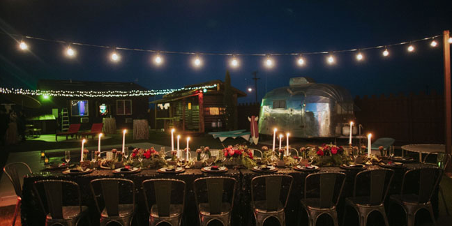 Hicksville Trailer Palace wedding Inland Empire