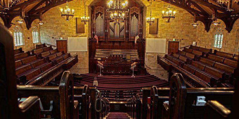 First Presbyterian Church of Hollywood wedding Los Angeles