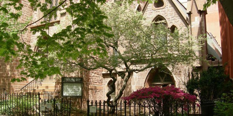 First Unitarian Congressional Society Brooklyn wedding Brooklyn