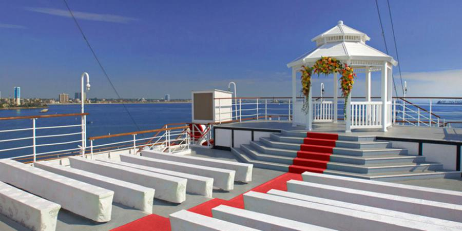 Queen Mary wedding Los Angeles