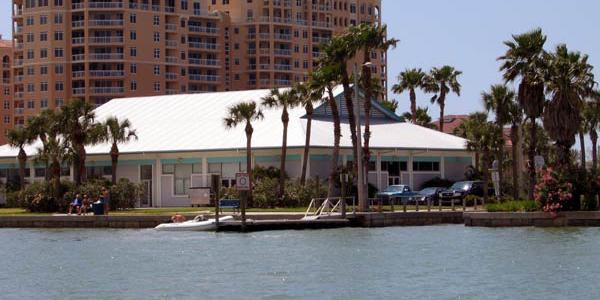 Clearwater Beach Recreation Center wedding Tampa