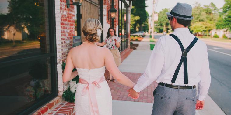Cross+Main wedding Raleigh/Triangle