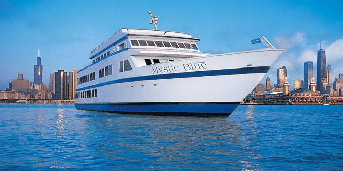 Mystic Blue Cruises wedding Chicago