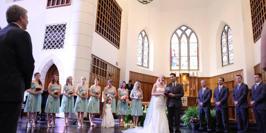 Canterbury School wedding Greensboro/Triad