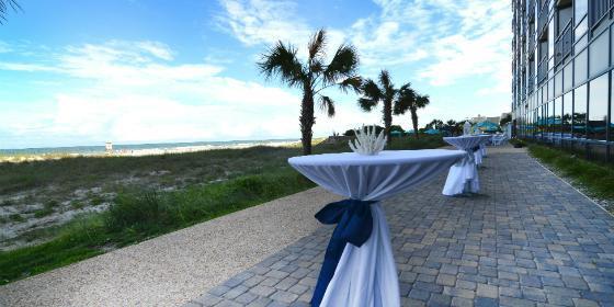 Shell Island Resort wedding Wilmington