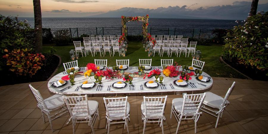 Sheraton Maui Resort & Spa wedding Maui