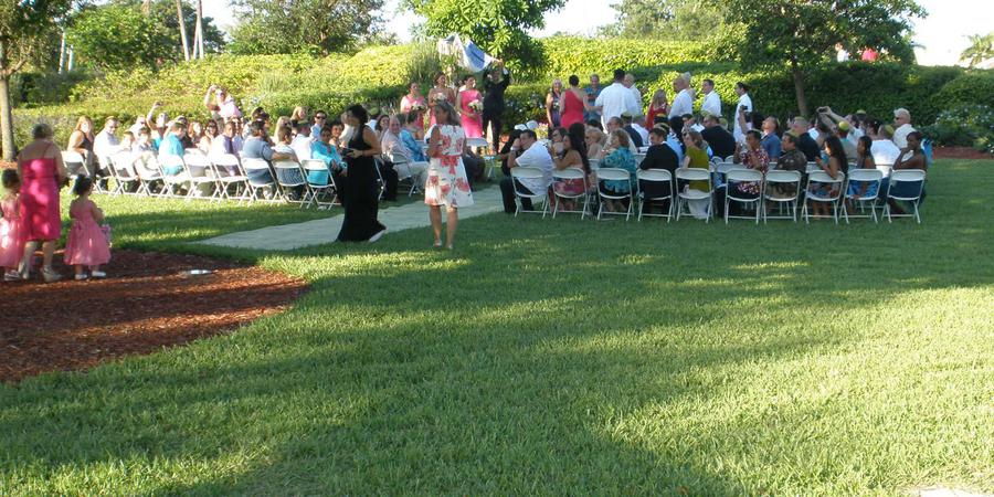 Arts Park Amphitheater wedding Fort Lauderdale