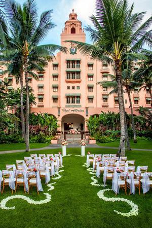 The Royal Hawaiian, a Luxury Collection Resort wedding Honolulu