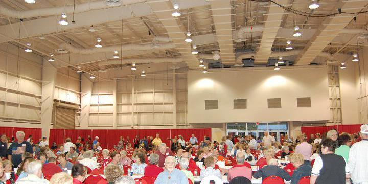 Florida Strawberry Festival- Expo Hall wedding Tampa