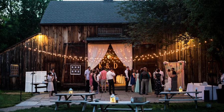The Webb Barn wedding Hartford