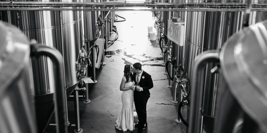 Stony Creek Brewery wedding New Haven
