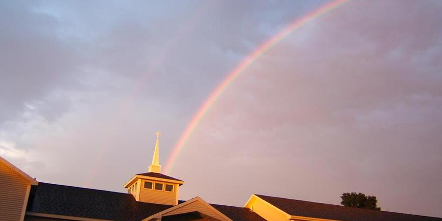 Christ the King Spiritual Life Center wedding Eastern Adirondacks/Lake Champlain