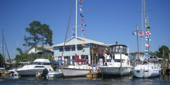Hernando Beach Yacht Club wedding Tampa