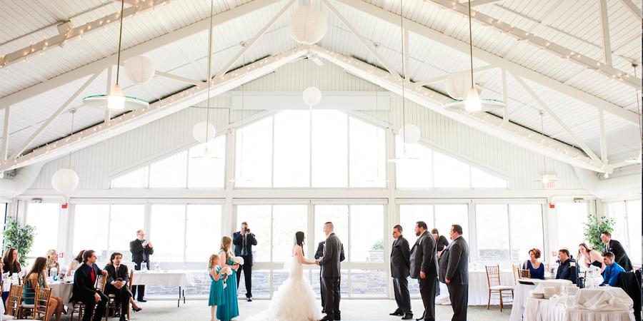 The Atrium at The Essex wedding Vermont