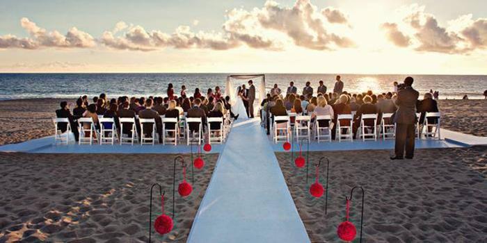 The Sunset Restaurant wedding Los Angeles