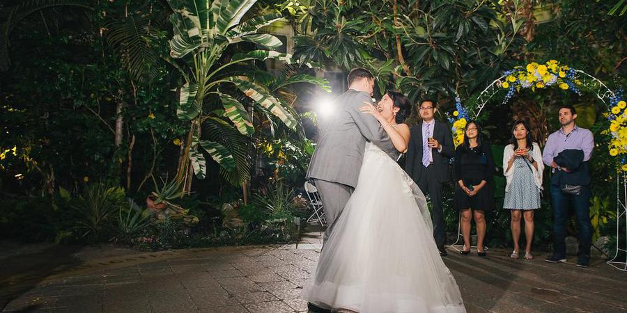 Buffalo and Erie County Botanical Gardens wedding Western New York