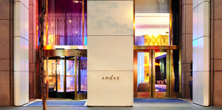 Andaz Wall Street wedding Manhattan