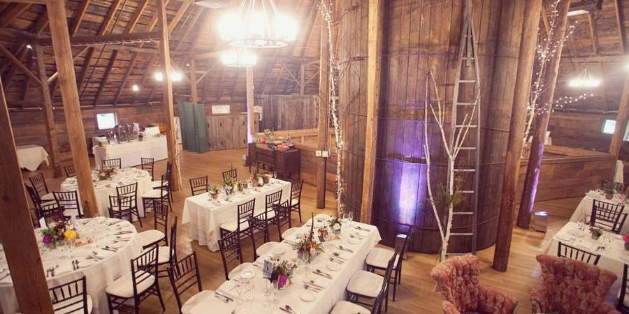 Inn at the Round Barn Farm wedding Vermont
