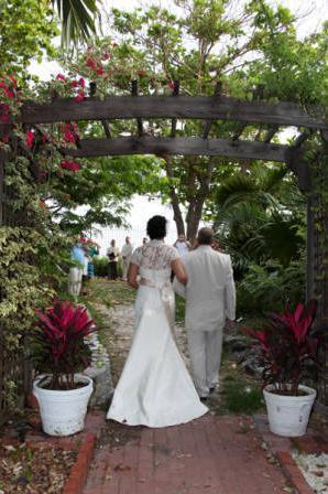 Key West Garden Club wedding Florida Keys