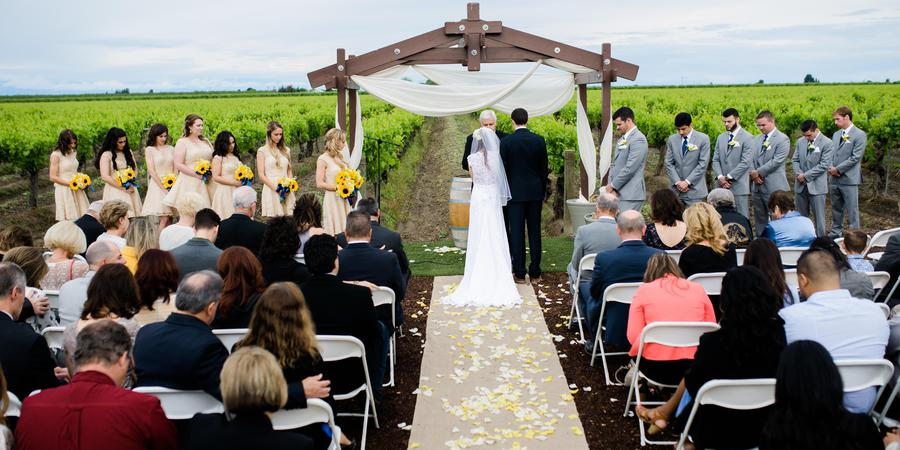 Moravia Wines wedding Central Valley