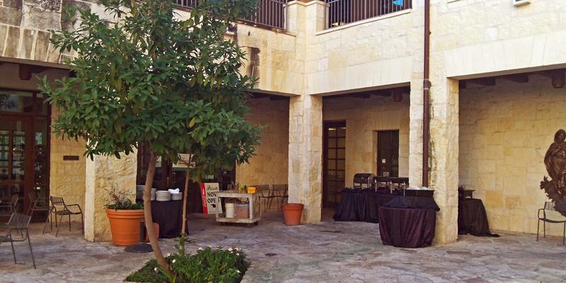 The Cathedral Centre Cafe wedding San Antonio