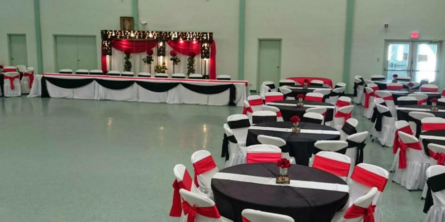 St. Henry Catholic Church and Parish Hall wedding San Antonio
