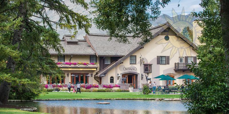 Duck Pond at Sun Valley Resort wedding Idaho