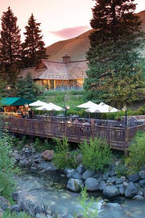Trail Creek Cabin at Sun Valley Resort wedding Idaho