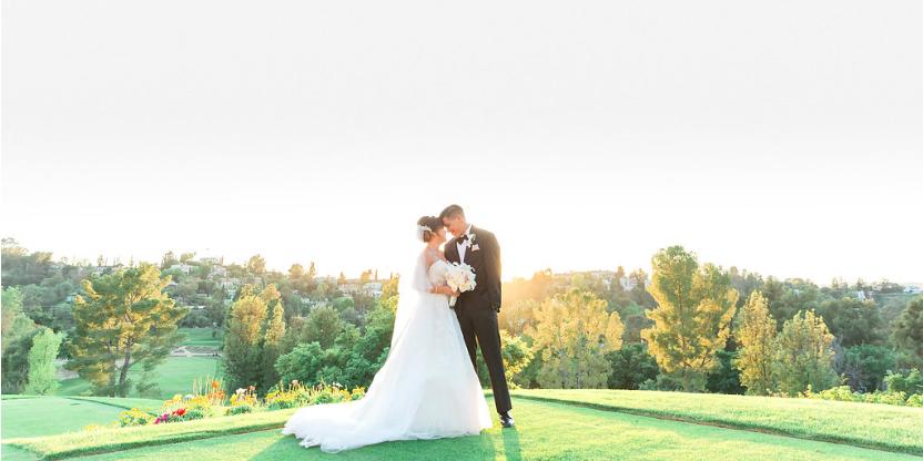 Woodland Hills Country Club wedding Los Angeles