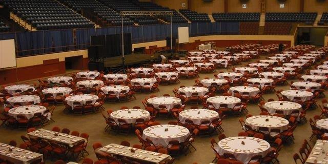 Foster Communications Coliseum wedding Fort Worth