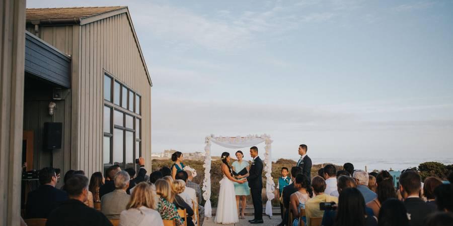 Seymour Marine Discovery Center wedding Monterey/Carmel Valley