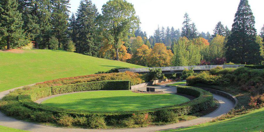 Hoyt Arboretum wedding Portland