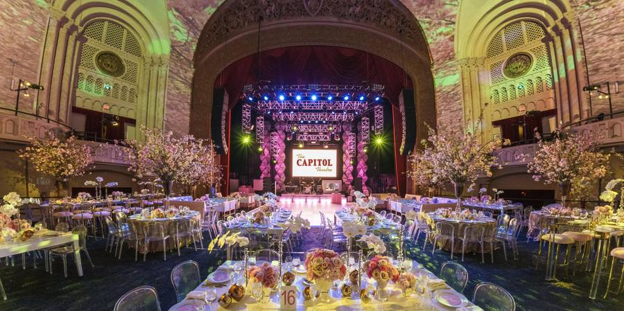 The Capitol Theatre wedding Westchester/Hudson Valley