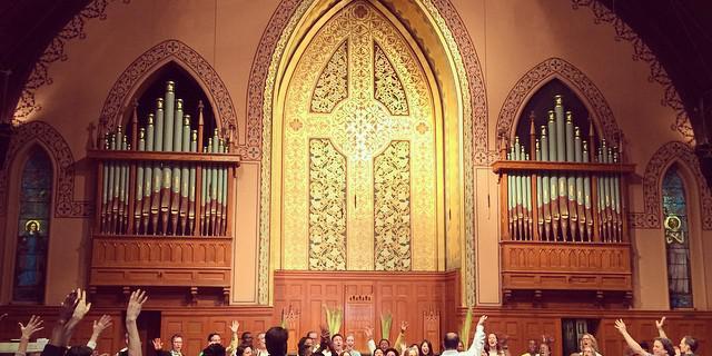 Middle Collegiate Church wedding Manhattan