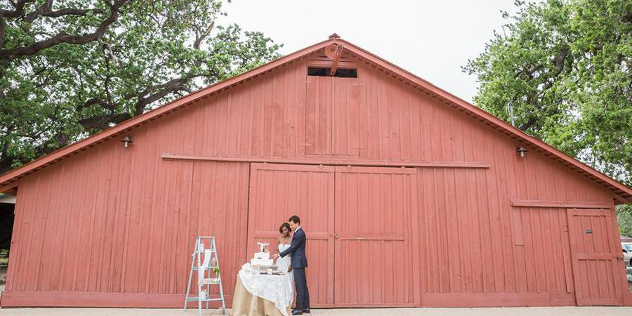 Orcutt Ranch Horticultural Center wedding Los Angeles