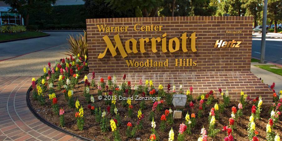 Warner Center Marriott wedding Los Angeles